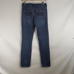 White House Black Market Jeans - White House Black Market Blanc Embroidered Jeans